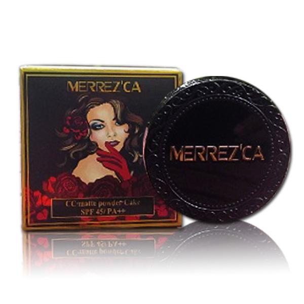 รูปภาพที่1 ของสินค้า : Merrez'ca CC Matte Powder Cake SPF45/PA++ 13 g. เบอร์ 23