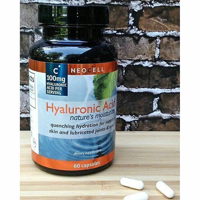 รูปภาพที่1 ของสินค้า : Neocell Hyaluronic Acid 100mg 60 Capsules วิตามินจากอเมริกา