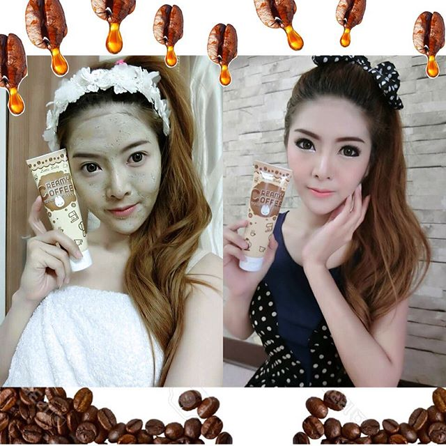 รูปภาพที่1 ของสินค้า : Mask Cream Coffee ลิตเติ้ล เบบี้ ครีมมี่ คอฟฟี่ สครับ แอนด์ มาร์ค