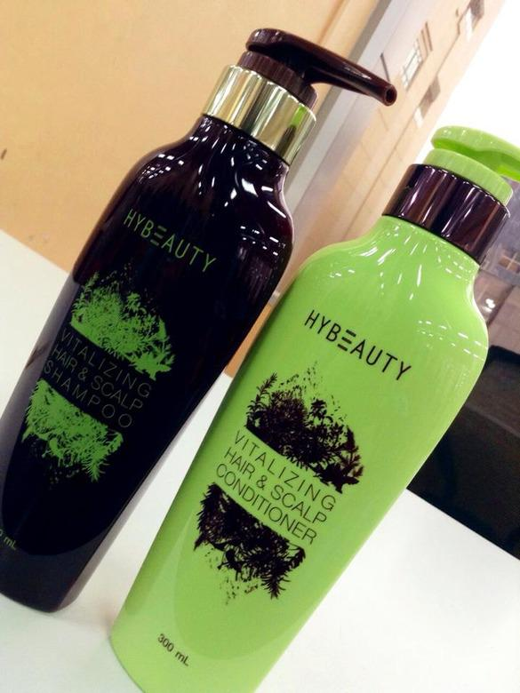 HYBEAUTY Vitalizing Hair&ampampampScalp Shampoo / Conditioner