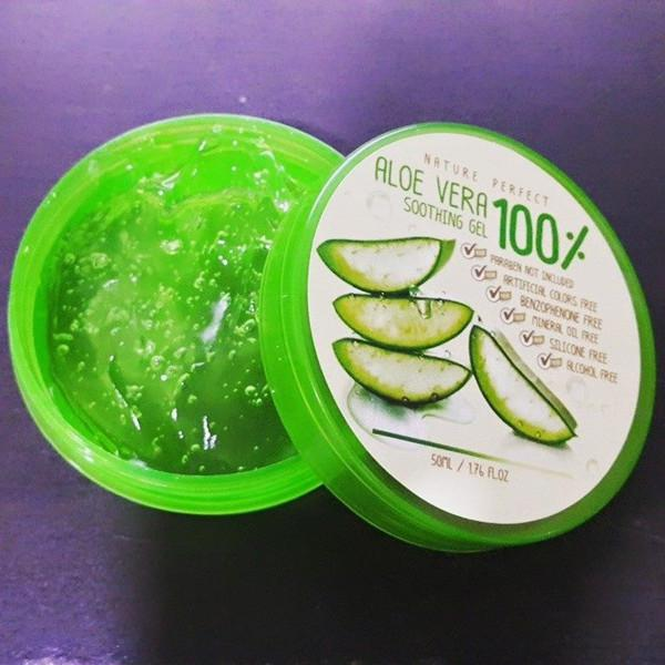 Nature Aloe vera 100% By Nature Perfect 50g