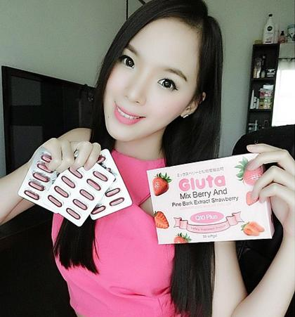 Gluta Mix Berry And Pine Bark Extract  Q10 Plus