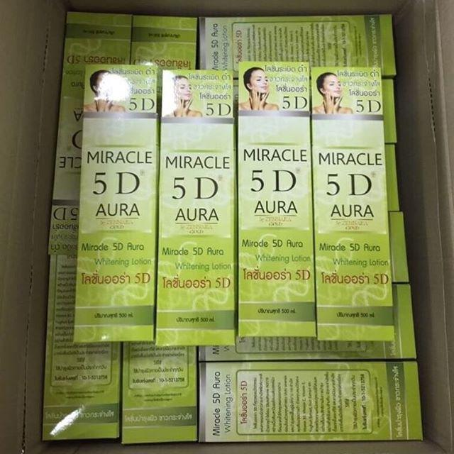 Miracle 5D Aura Whitening Lotion �Ū������� 5D