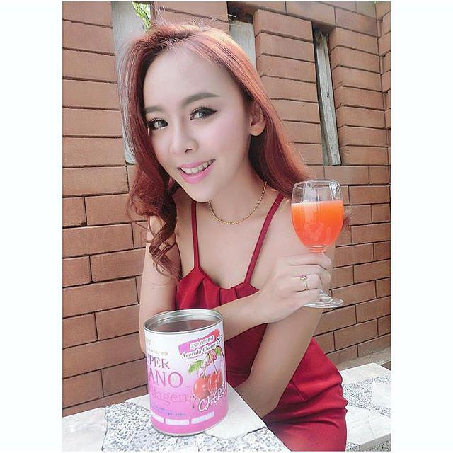 Super nano collagen Acerolay Cherry 250,000 mg X5