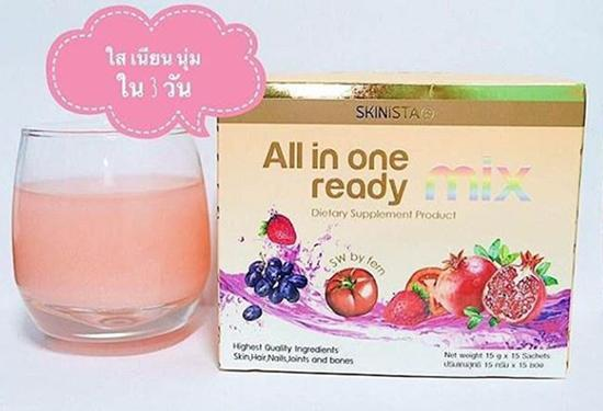 All in one Ready mix by SKINISTA บรรจุ 15ซอง