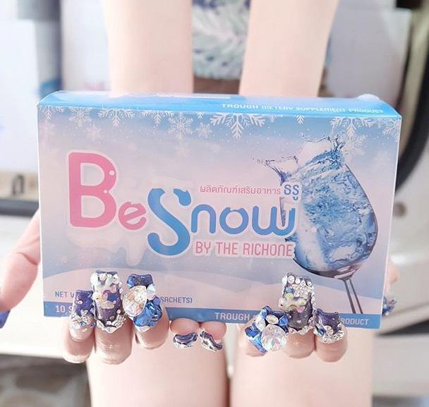 Be Snow บีสโนว์ ผงชงผิวขาว By the richone