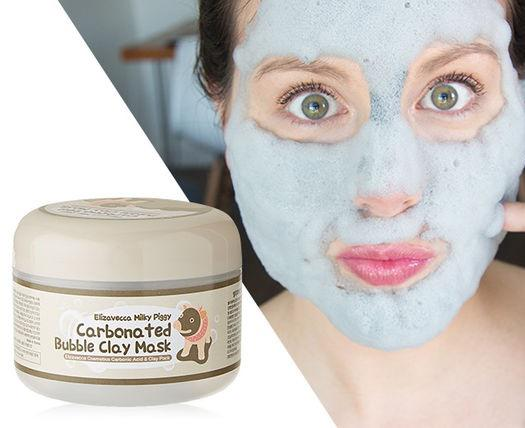 Elizavecca Milky Piggy Carbonated Bubble Clay Mask มาร์คหมู ฟูฟ่อง