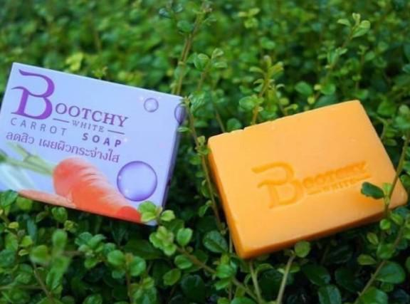 Bootchy White carrot soap สบู่แครอทบูทซี่ไวท์